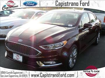 2017 Ford Fusion for sale in San Juan Capistrano, CA