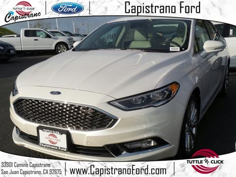2017 Ford Fusion for sale in San Juan Capistrano, CA