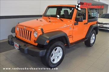2012 Jeep Wrangler for sale in Lancaster, MA