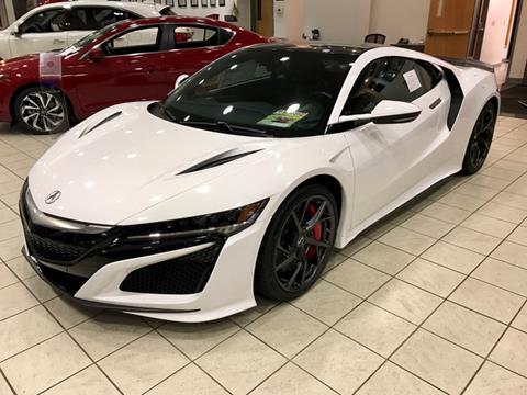 2017 Acura NSX for sale in Auburn, MA
