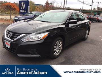 2016 Nissan Altima for sale in Auburn, MA
