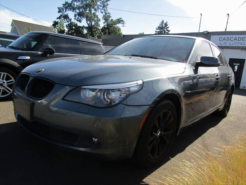 2009 BMW 5 Series For Sale At CASCADE CAR CONNECTION In Aumsville OR