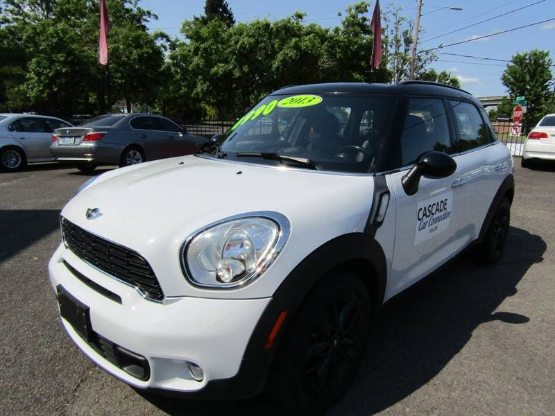 2013 Mini Countryman Cooper S In Aumsville Or Cascade Car Connection