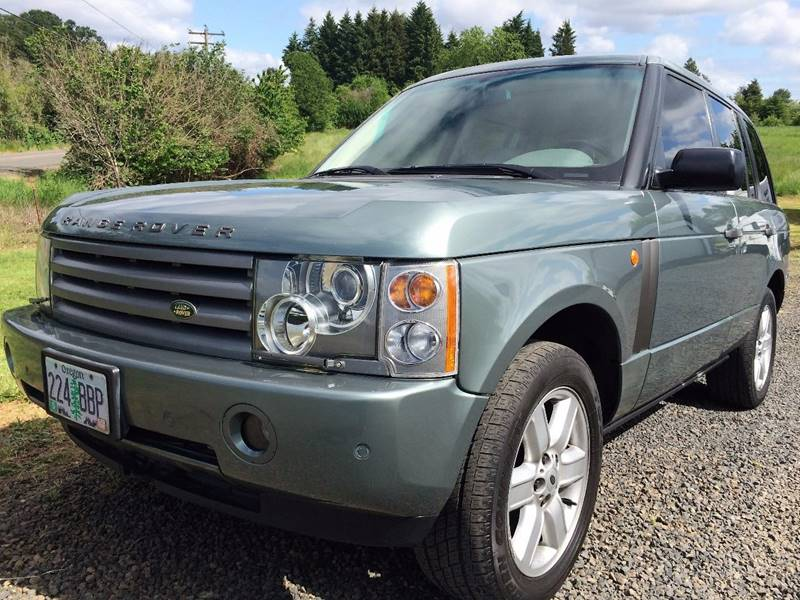 2003 land rover range rover hse in salem or cascade car. Black Bedroom Furniture Sets. Home Design Ideas