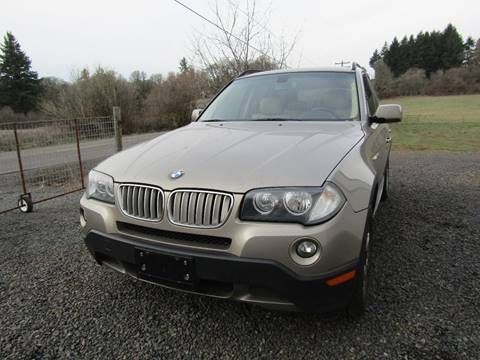 2007 BMW X3 for sale in Aumsville, OR