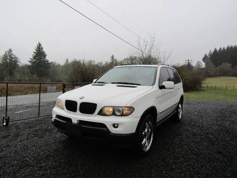 2004 BMW X5 for sale in Aumsville, OR
