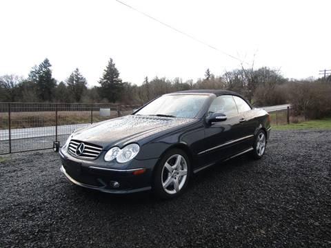 2005 Mercedes-Benz CLK for sale in Aumsville, OR