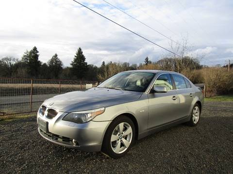 2006 BMW 5 Series for sale in Aumsville, OR
