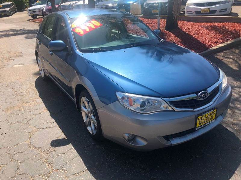 2008 Subaru Impreza for sale at HEILAND AUTO SALES in Oceano CA