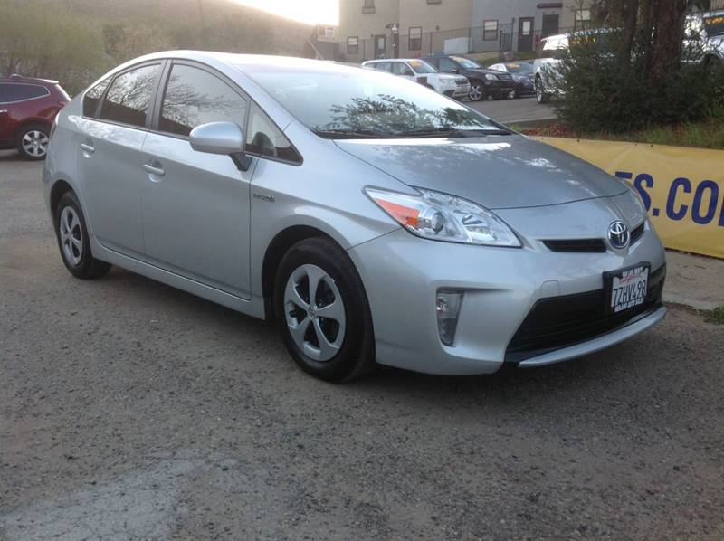 2015 Toyota Prius for sale at HEILAND AUTO SALES in Oceano CA