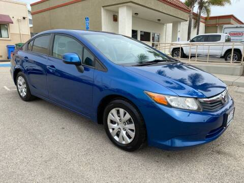 2012 Honda Civic for sale at HEILAND AUTO SALES in Oceano CA