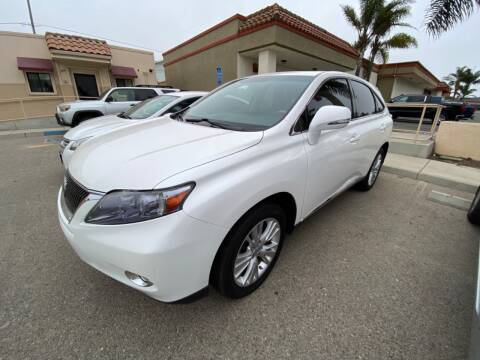 2012 Lexus RX 450h for sale at HEILAND AUTO SALES in Oceano CA