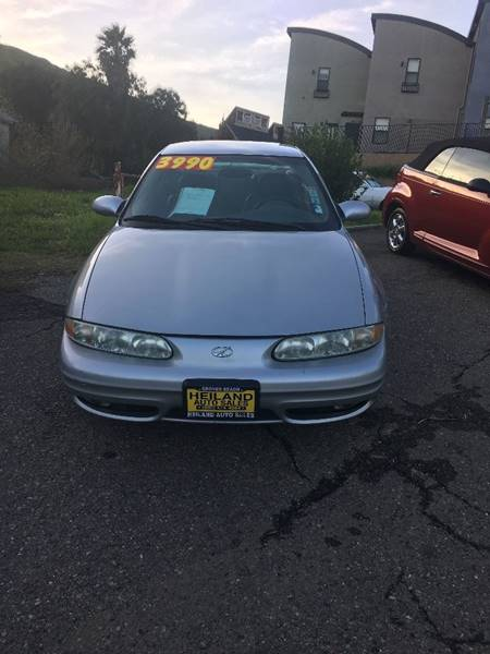 2002 Oldsmobile Alero GLS 4dr Sedan - San Luis Obispo CA