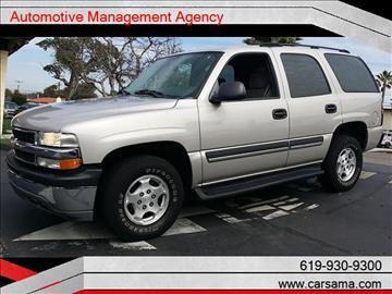 2004 Chevrolet Tahoe for sale in La Mesa, CA