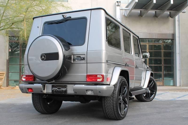 2008 Mercedes-Benz G-Class AWD G 55 AMG 4MATIC 4dr SUV - Glendale CA