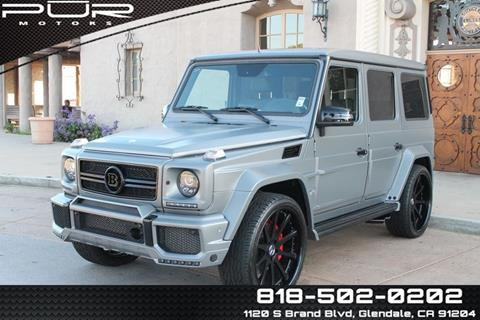 2014 Mercedes Benz G Class For Sale In Glendale, CA
