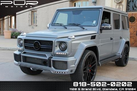 2014 Mercedes-Benz G-Class for sale in Glendale, CA