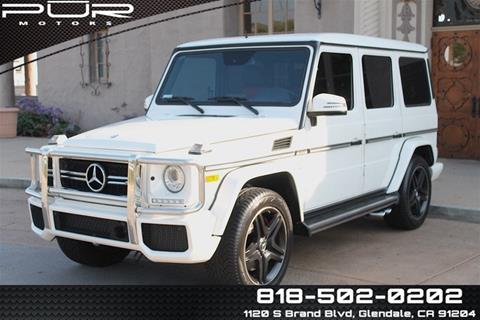 G Wagon 2015 >> 2015 Mercedes Benz G Class For Sale In Glendale Ca