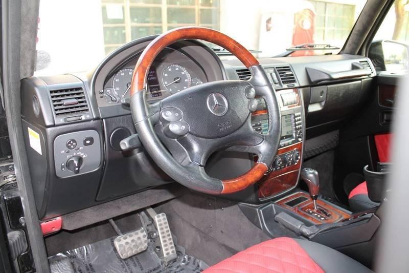 2008 Mercedes-Benz G-Class AWD G 500 4MATIC 4dr SUV - Glendale CA
