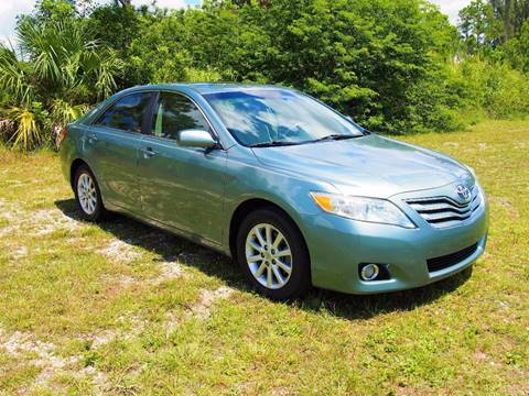 2011 Toyota Camry for sale in Homestead, FL