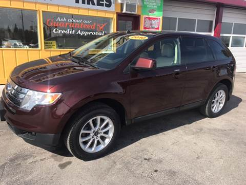 2010. Ford Edge 118,724 Miles $10,995
