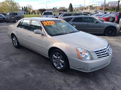 2007 Cadillac DTS for sale in Port Huron, MI