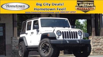 2014 Jeep Wrangler Unlimited for sale in Reidsville, NC