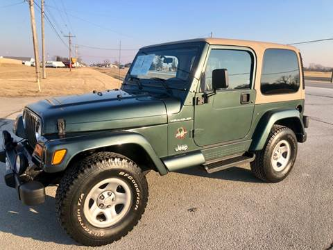 2002 Jeep Wrangler for sale in Perrysburg, OH