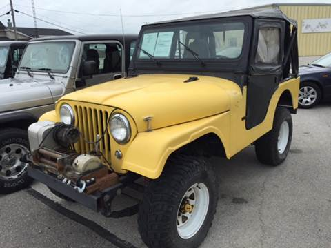 1961 Willys CJ-5