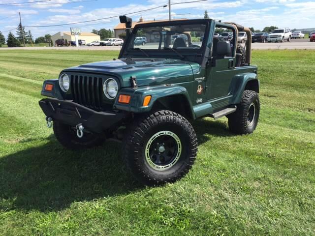 2000 Jeep Wrangler 2dr Sahara 4WD SUV   Perrysburg OH