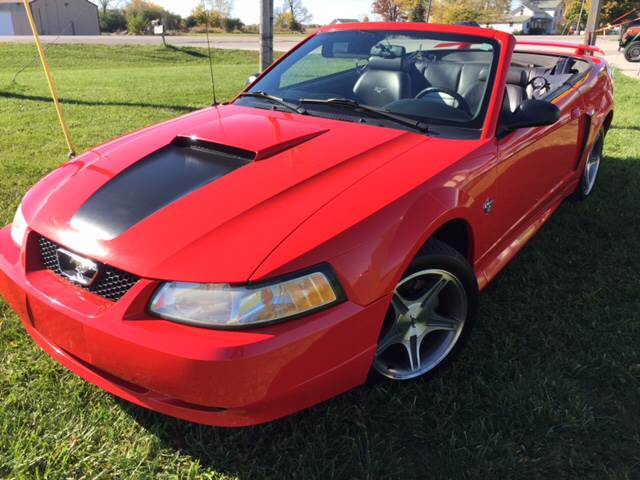 1999 Ford Mustang Gt 2dr Convertible In Perrysburg Oh Harrigan