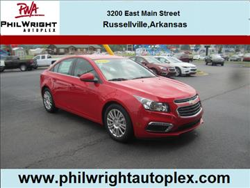 2015 Chevrolet Cruze for sale in Russellville, AR
