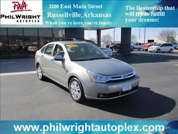 2008 Ford Focus for sale in Russellville, AR