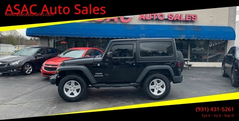 2013 Jeep Wrangler for sale in Clarksville, TN