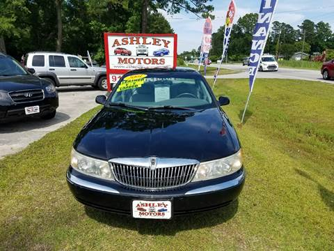 2001 Lincoln Continental for sale in Jacksonville, NC