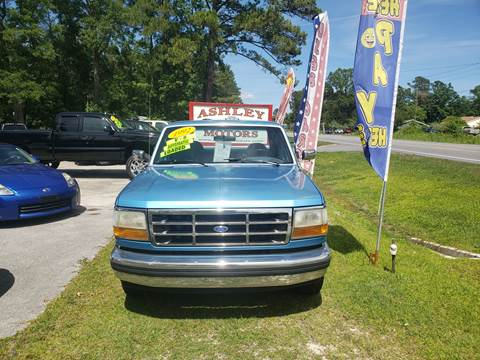 1992 Ford F-150 for sale in Jacksonville, NC