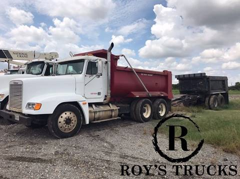 1997 Freightliner and Aztec FLD120 & Aztec Pup Dump for sale in Rowlett, TX