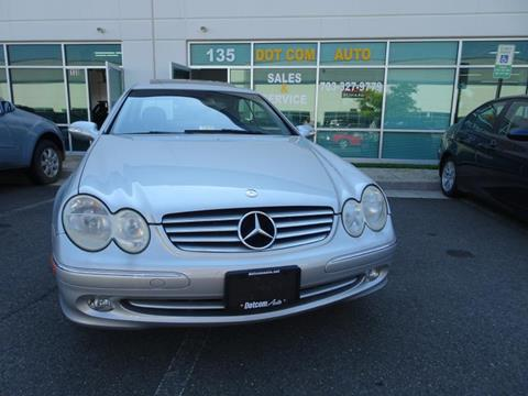 2003 Mercedes-Benz CLK for sale in Chantilly, VA