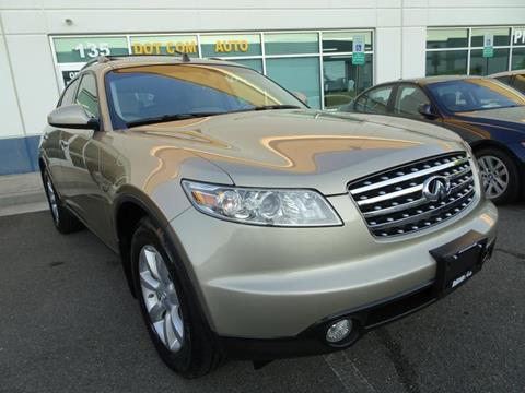 2003 Infiniti FX35 for sale in Chantilly, VA