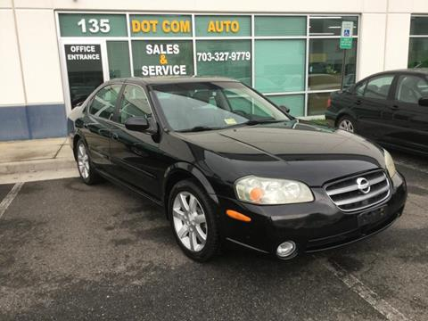 2003 Nissan Maxima for sale in Chantilly, VA