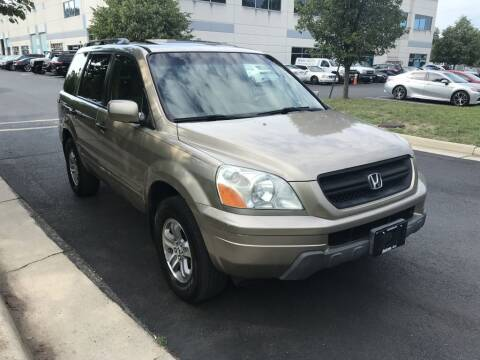 2005 Honda Pilot for sale at Dotcom Auto in Chantilly VA