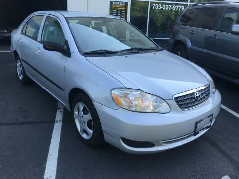 2008 Toyota Corolla for sale at Dotcom Auto in Chantilly VA