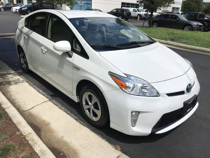 2014 Toyota Prius for sale at Dotcom Auto in Chantilly VA