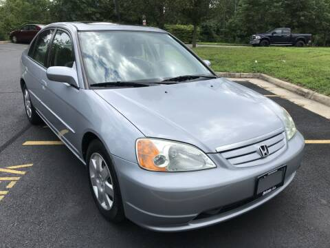 2002 Honda Civic for sale at Dotcom Auto in Chantilly VA