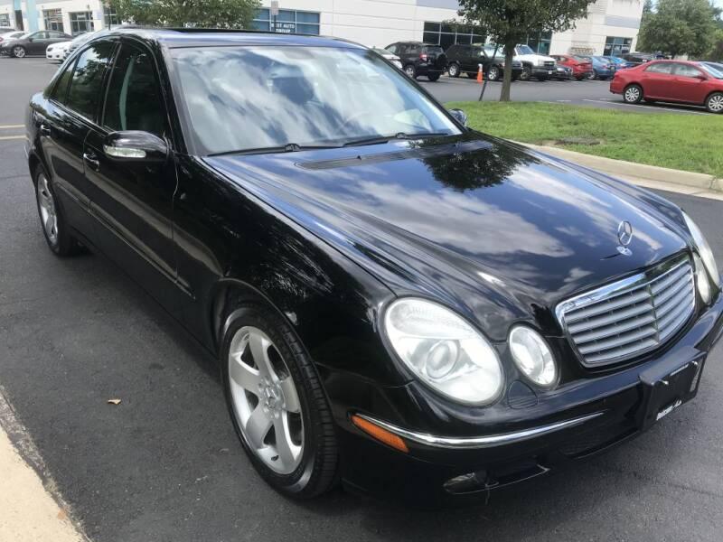 2006 Mercedes-Benz E-Class for sale at Dotcom Auto in Chantilly VA
