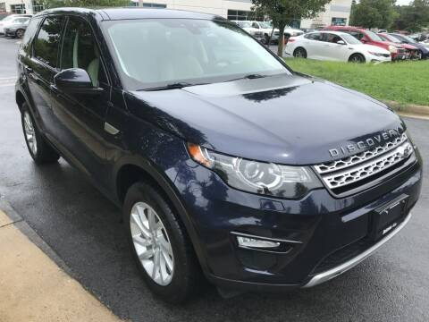 2016 Land Rover Discovery Sport for sale at Dotcom Auto in Chantilly VA