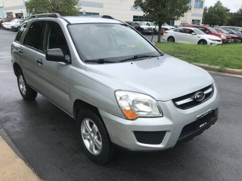 2009 Kia Sportage for sale at Dotcom Auto in Chantilly VA