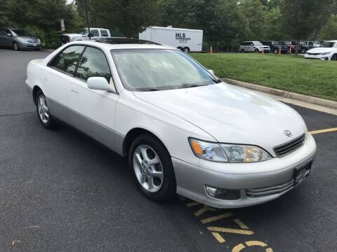 2000 Lexus ES 300 for sale at Dotcom Auto in Chantilly VA