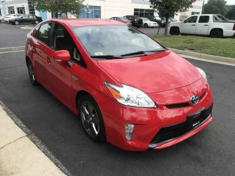 2015 Toyota Prius for sale at Dotcom Auto in Chantilly VA