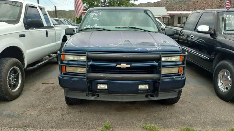2000 Chevrolet Tahoe LimitedZ71 4dr Z71 4WD SUV In Globe AZ